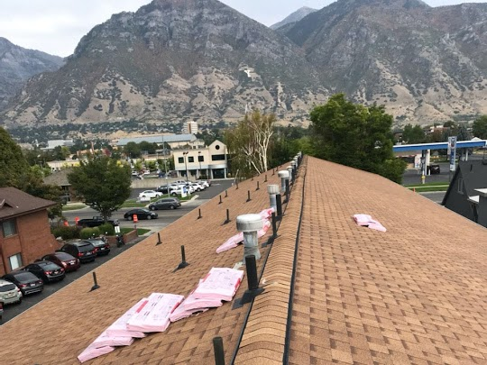 Roof Removal and Replacement - Colony Park Apartments - Provo Utah