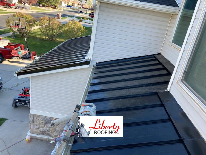 New metal roof - West Jordan UT