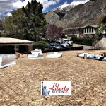 New Grey TPO Membrane Roof - Provo Utah